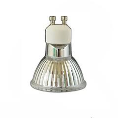4W GU10 Spot LED LED quantity: 60pcs 3528SMD SMD 3528 400 LM lm Blanc Chaud Gradable Décorative AC 85-265 AC 100-240 AC 110-130 V 1 pièce