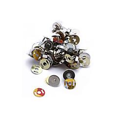 20 set 14mm plata cierres magnéticos botones para bolso artesanal coser bricolaje caliente