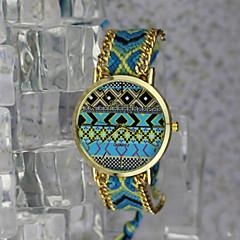 Mujer Reloj de Moda Cuarzo Aleación Banda Cosecha / Bohemio Dorado Marca-