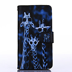 Crazy Deers Pattern PU Leather Full Body Case with Stand for Multiple Samsung Galaxy G850F/G530H/G360/G357