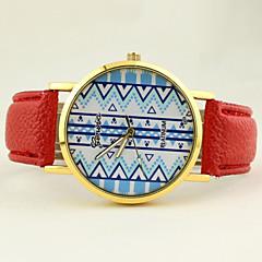 Women's Casual Dial PU Band Quartz Wrist Watch