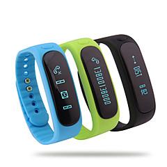 Bluetooth 4.0 Multifunctional Running Waterproof Pedometer/Calories Intelligent Bracelet Sleep Temperature Monitoring