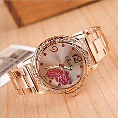 dames ronde kast wijzerplaat legering horlogemerk mode quartz horloge