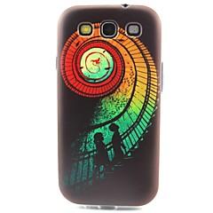 TPU caso de telefone padrão de escadas macio para Samsung Galaxy S3 S4 S5 S6 S6 borda s5mini
