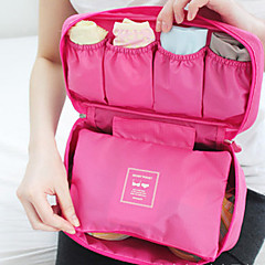 Portable Bra Underwear Lingerie Case Travel Organizer Bag (Random Color)