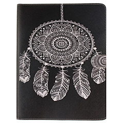 Dreamcatcher Pattern PU Leather Full Body Case With Stand and Card Slot for iPad 2/3/4