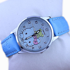 Kid's Hello Kitty Cute Cartoon Watch