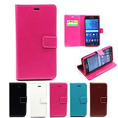 овчины модель телефона PU кожаные полные случаи тела защитную оболочку с подставкой для Samsung Galaxy Grand премьер G530