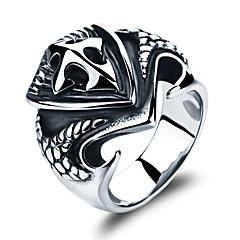 Stainless Steel Cross Restoring Ancient Ways Men's Ring