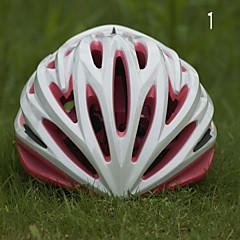 Bjerg/Vej/Sport - Dame/Herre/Børn/Unisex - Cykling/Bjerg Cykling/Vej Cykling/Rekreativ Cykling - Hjelm ( Gul/Grøn/Lyserød/Blå , PC/EPS )