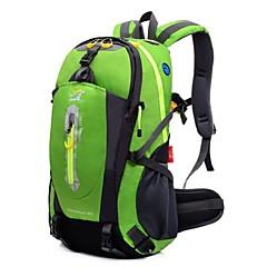 40 L 백패킹 배낭 하이킹 배낭 자전거 배낭 캠핑 & 하이킹 등산 레저 스포츠 여행 방수 다기능 나이론 Outdoor LOCAL LION