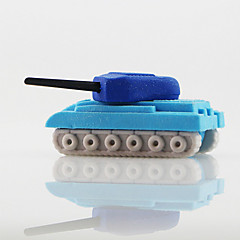 Tiny War Tank Toys Detachable Rubber Eraser (Random Color)