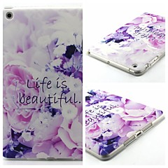 Beautiful Life Pattern Soft TUP Case for iPad mini 3, iPad mini 2, iPad mini
