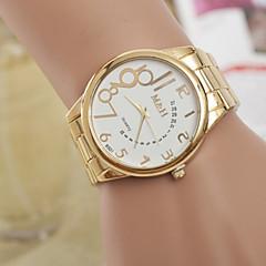 Men's Watches  Personality Digital Gold Belt Quartz Watch