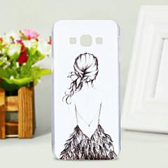 Για Samsung Galaxy Θήκη Με σχέδια tok Πίσω Κάλυμμα tok Σέξι κυρία PC Samsung A8 / A7 / A5 / A3