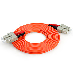 Shengwei® SC(UPC)-SC(UPC) Simplex Single-Mode Fiber Patch Cord 3M/5M/10M