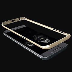 Για Samsung Galaxy Θήκη Επιμεταλλωμένη tok Αντικραδασμική tok Μονόχρωμη Μεταλλικό Samsung S6 edge
