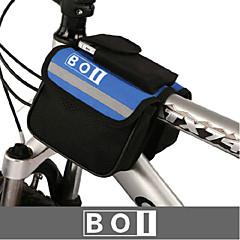 BOI® Bisiklet Çantası 1.9LBisiklet Gidon Çantaları Su Geçirmez / Su Geçirmez Fermuar / Darbeye Dayanıklı / Giyilebilir Bisikletçi Çantası
