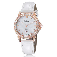 Women's Fashion Watch Japan Movt Spherical Dial Design Genuine Leather Luxury Brand Calendar Diamond Watches 8319GWW