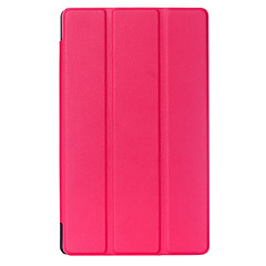 8 Inch Triple Folding Pattern High Quality PU Leather Case for Acer Iconia One 8 B1-820(Assorted Colors)