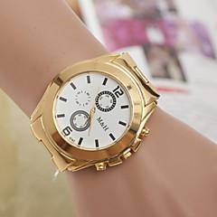 金ベルトの腕時計のメンズウォッチクォーツスイス合金の腕時計のファッショントレンド