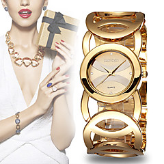 WeiQin Dames Modieus horloge Armbandhorloge Kwarts Legering Band Bedeltjes Zwart # 1 2 # # 3 # 4