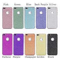 coloré paillettes bling protecteur d'écran autocollant d'enveloppe de la peau de luxe pour iPhone 5 / 5s (couleurs assorties)
