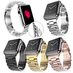 Banda de relogio para relógio de maçã 38mm pulseira de aço inoxidável de 42mm pulseira de borboleta