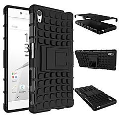 Armor Heavy Duty Hard Cover Case For 2015 Sony Xperia Z5 E6603 E6633 E6653 E6683 Silicone Protective Skin Double Color