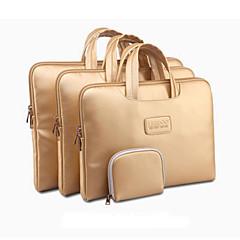 """or portable manchon de portage sac cas ordinateur portable avec petit sac pour MacBook Pro / Pro rétine thinkpad dell samsung 13 """"14"""" 15 """""""