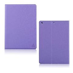 Smooth Colorful Double-fold PU Leather Case with Stand for iPad Air(Assorted Colors)