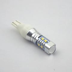 t15 samsung2323 * 10smd 30w 6000-6500k super-fort 12-24v de lumière blanche
