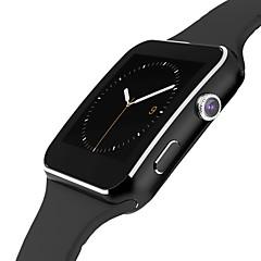 SmartWatch x6 para android teléfono reloj podómetro rastreador de sueño reloj inteligente