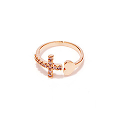 Ringe Hochzeit / Party / Alltag / Normal Schmuck Kupfer / versilbert / Rose Gold überzogen Damen Bandringe 1 Stück,VerstellbarGoldfarben
