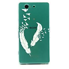 Mert Sony tok Átlátszó Case Hátlap Case Toll Puha TPU mert Sony Sony Xperia Z5 Compact / Sony Xperia Z3 Compact