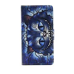 Mert Sony tok Pénztárca / Kártyatartó / Állvánnyal / Flip Case Teljes védelem Case Cica Kemény Műbőr mert SonySony Xperia Z3 Compact /