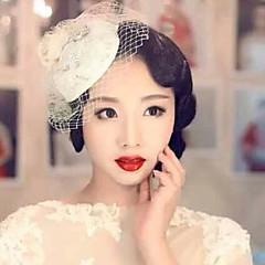 Elegant Lace Hat Fascinators for Party
