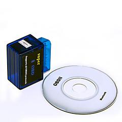 """""""ELM327 mini bluetooth v1.5 OBD2 auto autó diagnosztika szkenner adapter szerszám - kék (DC 12V)"""""""