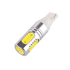 YOBO T10-5D-7W 5*COB 7W 480-500LM 6500K Car License Plate Light / Clearance lamp White Light (DC12V)