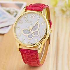 L.WEST Fashion High-end Diamonds Butterfly Quartz Watch