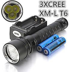 Trustfire 100M Etanche 4000 Lumen CREE T6 XML plongée LED torche