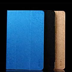 10.6 tommer tredobbelt foldning mønster høj kvalitet pu læder til terning i10 (assorterede farver)