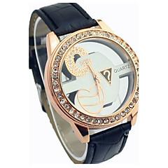 Letter symbols hollow diamond watches
