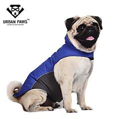 Gatos / Perros Abrigos / Chaleco Rojo / Azul Ropa para Perro Invierno Bloques A Prueba de Agua