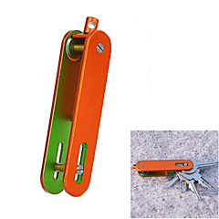 kültéri hordozható alumínium ötvözet gombok szervező tartó - (fekete / narancssárga / szürke / zöld)