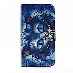 Na Samsung Galaxy Etui Etui na karty / Z podpórką / Flip / Wzór / Magnetyczne Kılıf Futerał Kılıf Kot Skóra PU Samsung A5 / A3