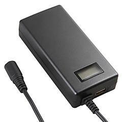 LCD 디스플레이 lvsun® 미니 범용 이동 랩톱 충전기 70w 노트북 AC 전원 어댑터 전원
