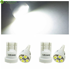 4 x T10 149 168 W5W 4 x SMD 3528 LED  6500K  Car Tail Light  / Instrument Lamp  DC12V