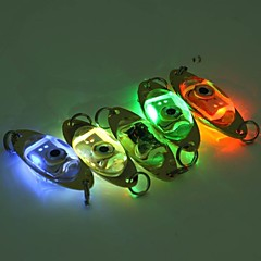 Flash Eye Shape LED Deep Drop Underwater  Fishing Squid Fish Lure Light Lamp
