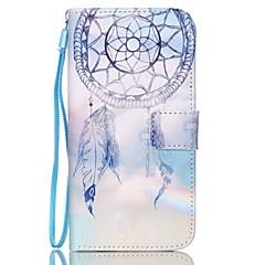Campanula kuvio PU nahka flip kortti Samsung Galaxy S3 / s3mini / S4 / s4mini / S5 / s5mini / S6 / s6edge / s6edge +